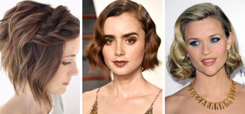 fryzury na święta z krótkich włosów, jak uczesać krótkie włosy