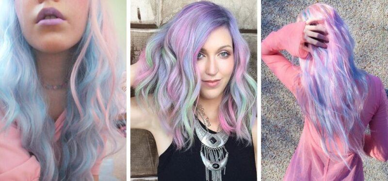 jak uzyskać efekt pastelowych włosów