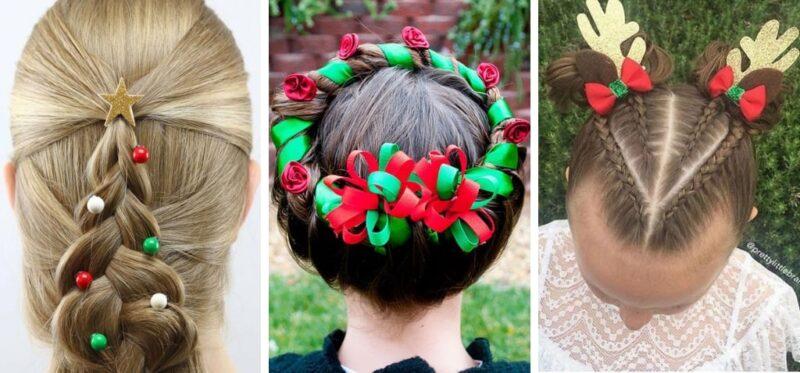 bardzo ciekawe pomysły na świąteczne fryzury