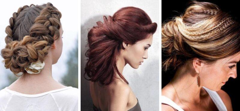 upięcia z karbowanych włosów