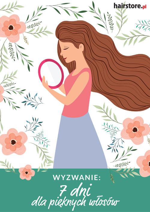 E-book Hairstore: Wyzwanie: 7 dni dla pięknych włosów