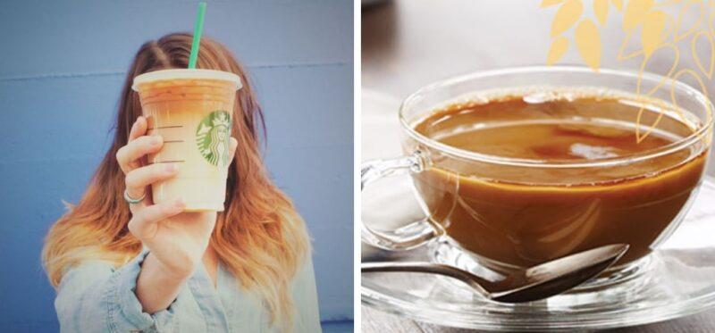 blonde roast hair, koloryzacja dla brunetek, pasemka, koloryzacja inspirowana kawą, kolor włosów inspirowany kawą