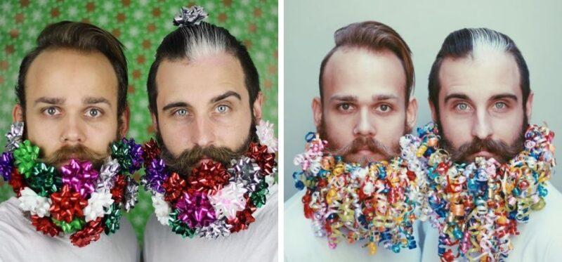 stylizacja brody, pomysł na brodę, broda w święta