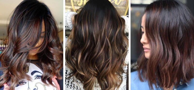 cold brew hair, czyli koloryzacja dla brunetek, trendy jesień 2018 w koloryzacji włosów