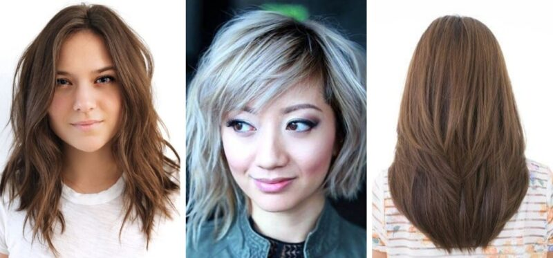 cieniowanie włosów, włosy cieniowane, jak ścinać cienkie i rzadkie włosy