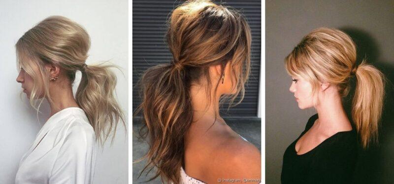 jak uczesać długie cienkie łosy, pomysły na fryzury dla rzadkich włosów
