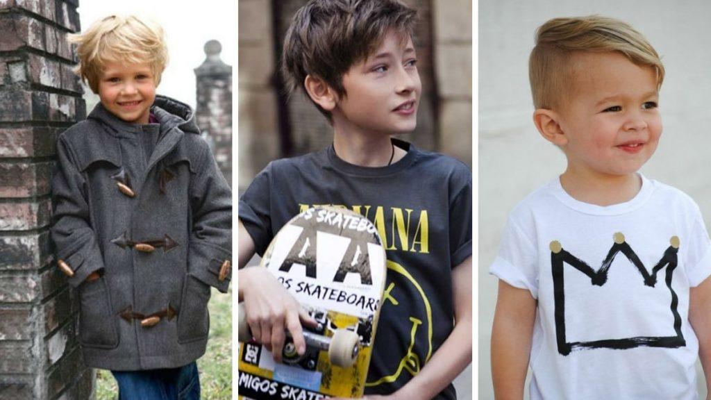 fryzury dla chłopców 2018