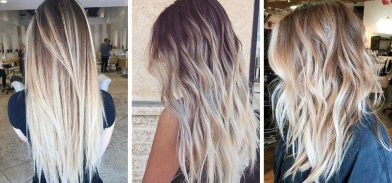 kokosowe włosy, toasted coconut hair, białe włosy, trendy 2018, koloryzacja ciemnych włosów