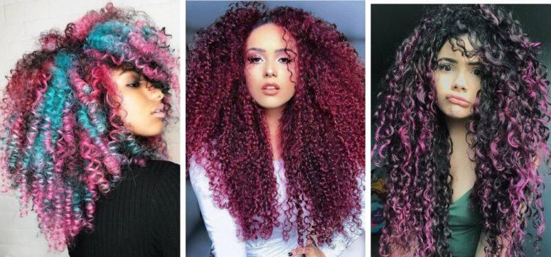 afroloki, afro loki, loki afro, tęczowe włosy