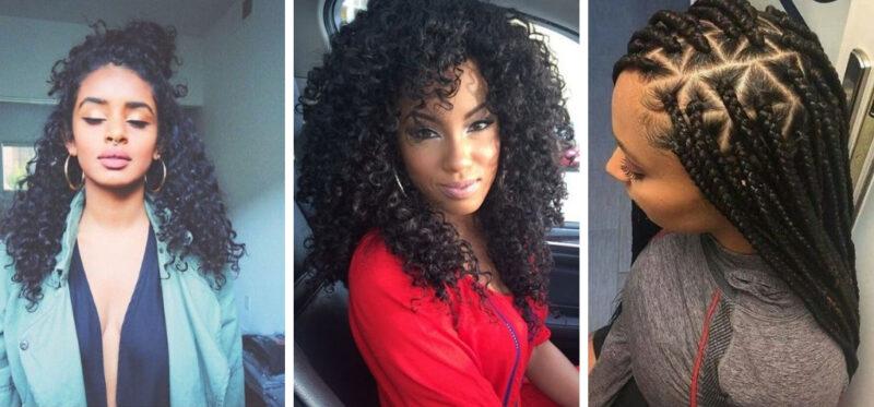 pomysły na fryzury z afro lokami