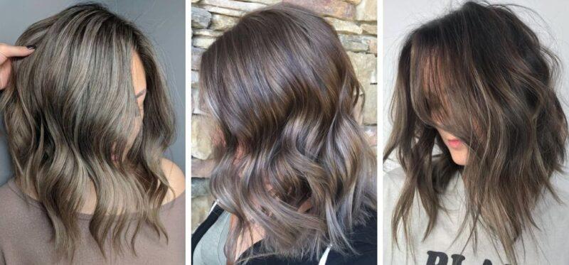 na czym polega mushroom brown hair, koloryzacja dla brunetek, trendy w koloryzacji, trendy jesień 2018