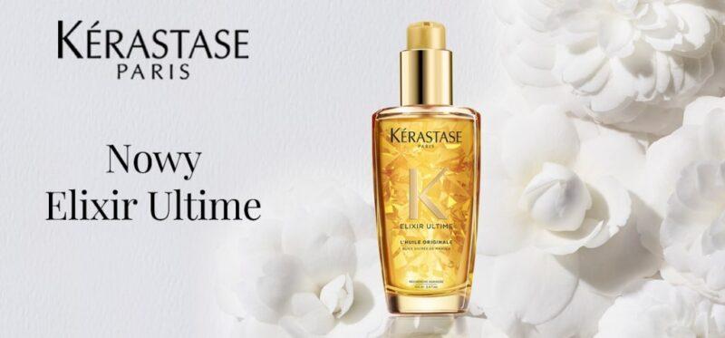 pielęgnacja włosów z olejkiem kerastase elixir ultime, nabłyszczanie włosów, pielęgnacja włosów z olejkami, luksusowa pielęgnacja, luksusowe kosmetyki