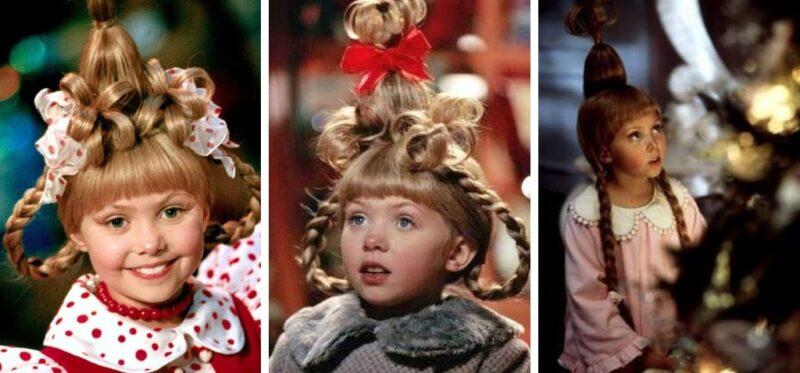 śmieszne fryzury, świąteczne fryzury, grinch