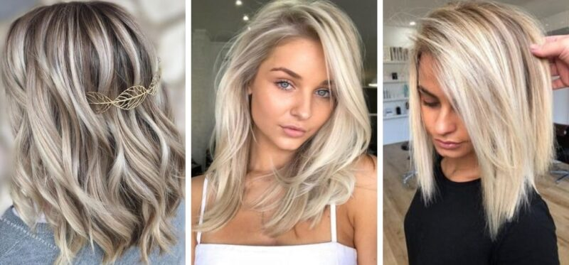 włosy blond, koloryzacja blond, trendy zima 2018/2019, trendy 2019