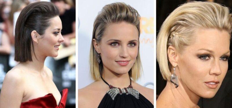 fryzury na krótkie włosy, krótkie włosy fryzury, eleganckie fryzury z krótkich włosów