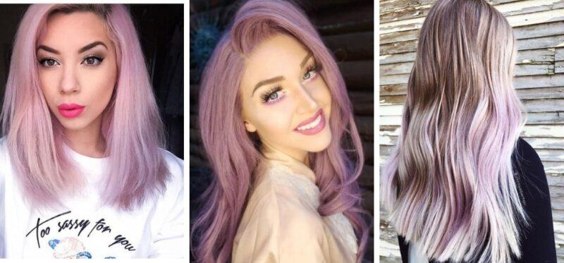 długie kolorowe włosy, vanilla lilac hair,