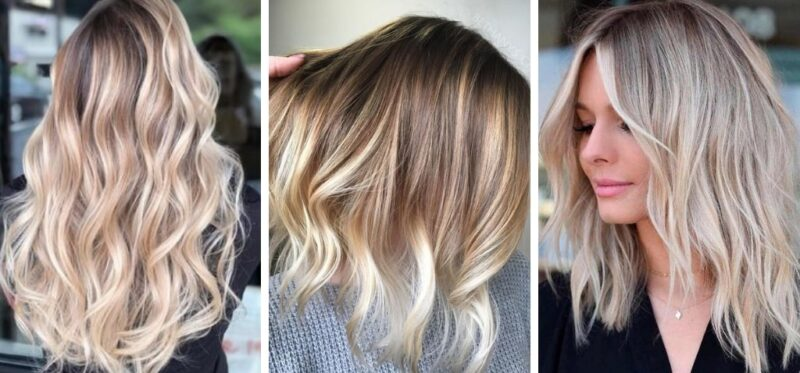 ombre, ombre hair, vanilla chai hair, ombre blond