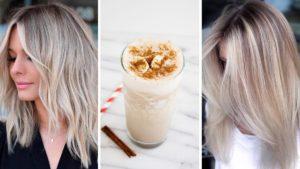 vanilla chai hair, włosy waniliowe, vanilla blonde, vanilla chai blond hair color