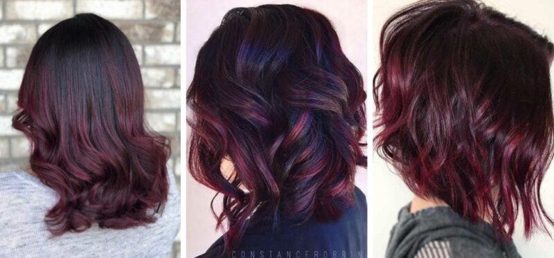 cranberry hair, bordowe włosy, ciemno czerwone włosy, krótkie czerwone włosy