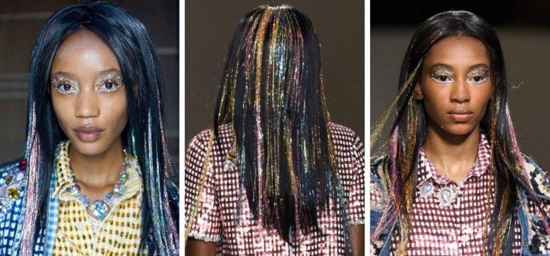 tinsel hair, karnawał 2019, karnawał fryzury