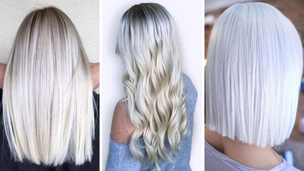 lodowy blond, ice blonde, zimny blond, włosy blond, blond 2019