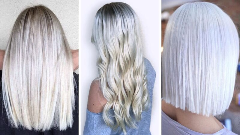 Czy Lodowy Blond To Kolor 2019 Roku Blog Hairstore