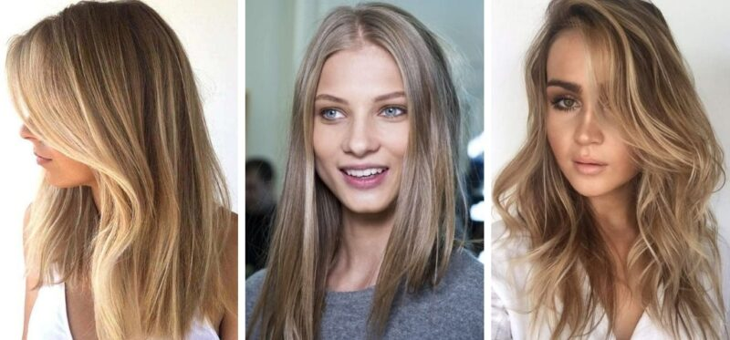 ciemny blond, dark blonde, trendy 2019