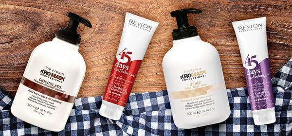 piekne brązowe włosy, maska koloryzująca, szampon koloryzujący
