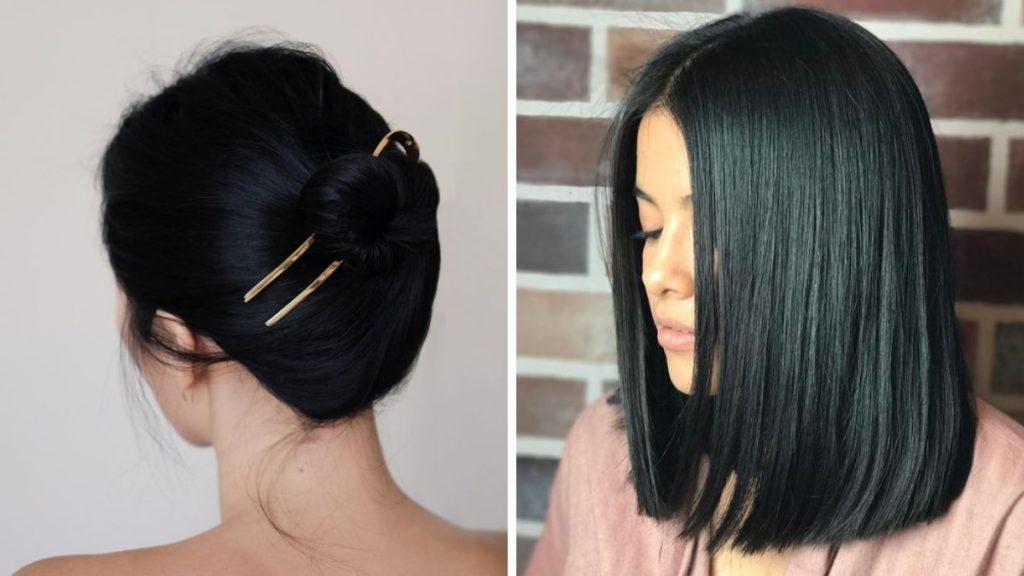 czarna farba do włosów