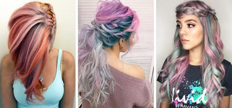 pastelowe włosy, włosy pastelowe, kolorowe włosy