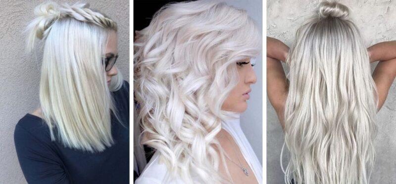 jak ochłodzić kolor włosów, jak pielęgnować zimny blond