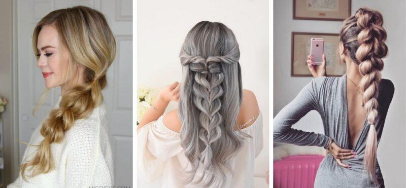 fryzury z długich włosów, fryzury dla kobiet, warkocze, fryzury do pracy