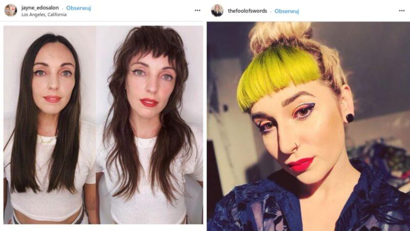 baby bangs instagram inspiracje
