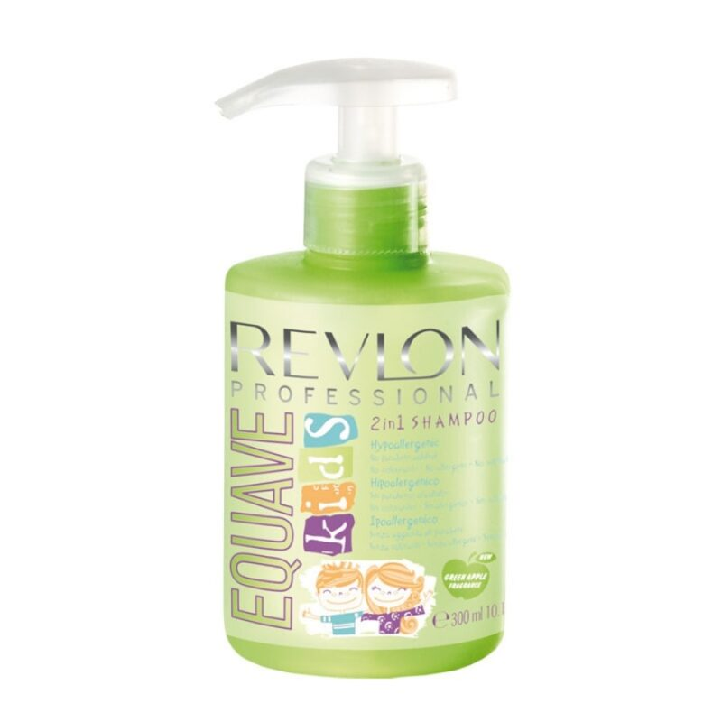 szampon o zapachu jabłuszka, szampon dla dziewczynki, szampony dla dzieci, szampon revlon equave kinds