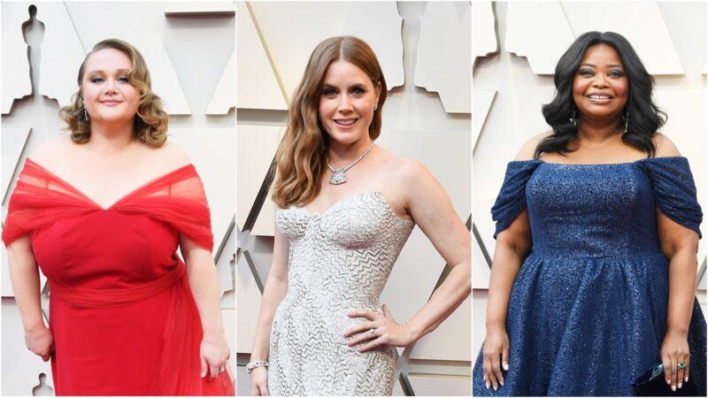 Fryzury z Oscarów 2019 - fale