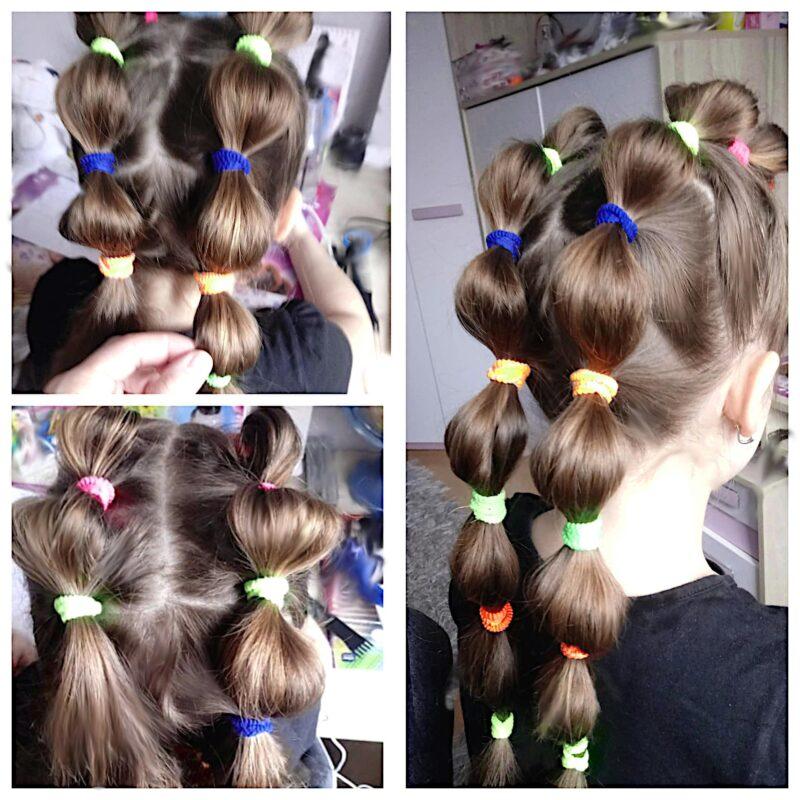 fryzury dla dzieci krok po kroku, fryzury dla dziewczynek krok po kroku, fryzury do szkoły