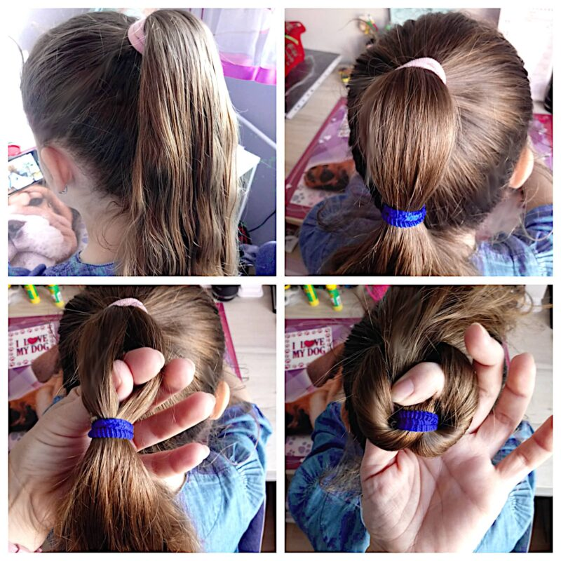 jak uczesać dziewczynkę, fryzury długich włosów