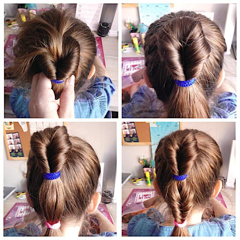 fryzury instrukcje, fryzury krok po kroku, tutorial fryzury do szkoły