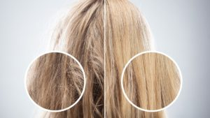 keratynowa odbudowa włosów, jak keratyna wpływa na włosy, regeneracja włosów z keratyną