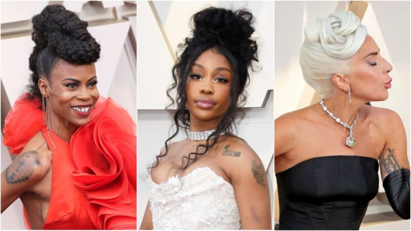 Fryzury z Oscarów 2019 - koki