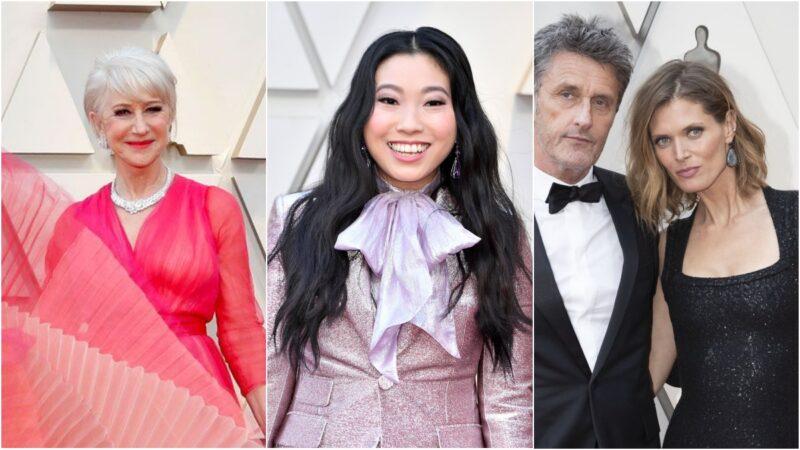 Fryzury z Oscarów 2019 - naturalne