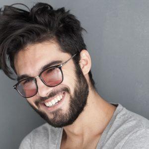 stylizacja męskich włosó, długie męskie włosy, pasta do wlłosow, kosmetyki do stylizacji włosów dla mężczyzn, goldwell roughman
