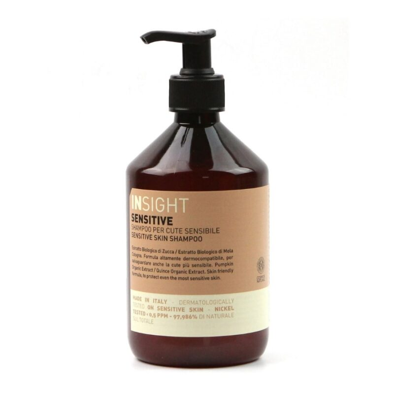 szampon bez iarczanów, szampon bez parabenów, szampon dla dzieci, szampon dla całej rodziny, szampon do wrażliwej skóry glowy, szampon insight sensitive skin