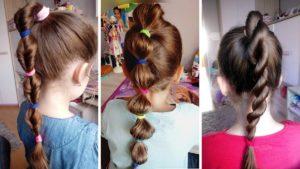 proste fryzury do szkoły, szybkie fryzury do szkoły, łatwe fryzury do szkoły, jak uczesać dziecko do szkoły