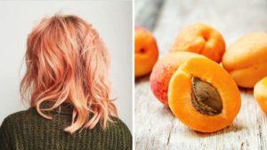 apricot hair, morelowe włosy, blorange
