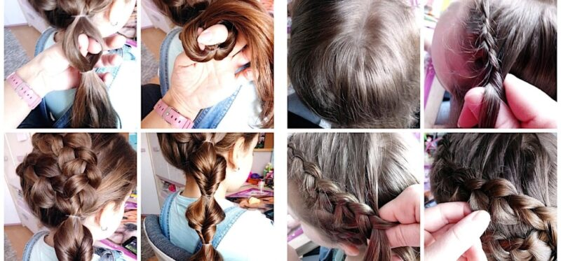 fryzura na wesele z długich włosów