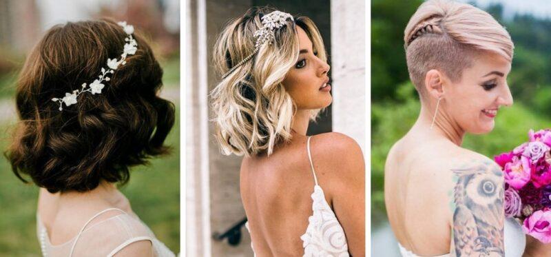 modne fryzury na wesele z krótkich włosów, krótkie włosy fryzury, eleganckie fryzury z krótkich włosów