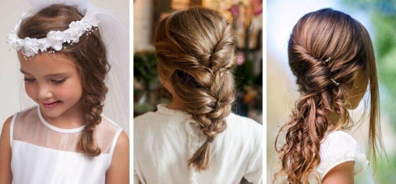 komunia fryzury, fryzury komunia święta zdjęcia