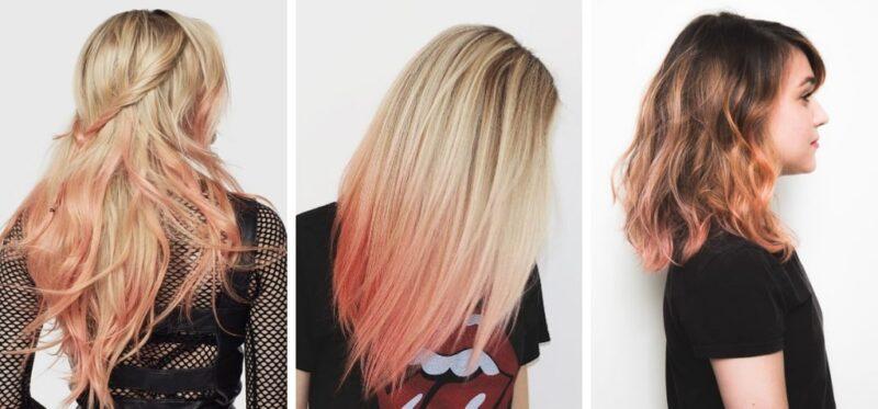 morelowe ombre, ombre włosy, kolorowe ombre, ombre hair