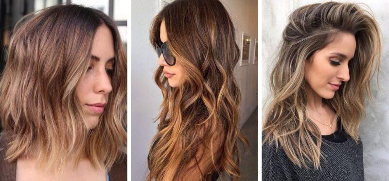 świetlisty brąz, brąz toffi, pasemka brąz, refleksy na brązowych włosach